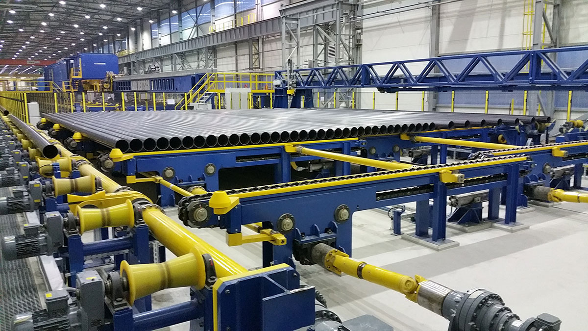 SMS group has built for Huta Łabędy the largest ERW welded tube line in Poland.